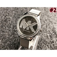 MK Tide brand fashion men and women models wild waterproof quartz watch #2