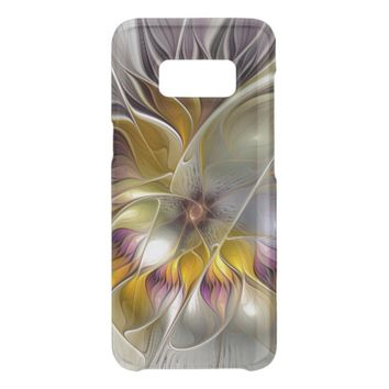 Abstract Colorful Fantasy Flower Modern Fractal Get Uncommon Samsung Galaxy S8 Case