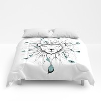 Poetic King Comforters by LouJah
