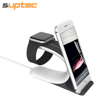 Multi-function Phone Holder for iPhone Charging Stand Holder for Apple Watch iWatch Desk Dock Station for Samsung Xiaomi Meizu