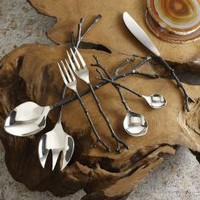 Bronze Sapling Flatware | My Sparrow