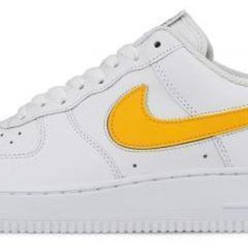 BC AUGUAU Nike Air Force 1 Swoosh Flavours White