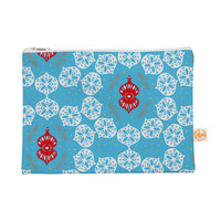 """Miranda Mol """"Frosted White"""" Blue Holiday Everything Bag"""