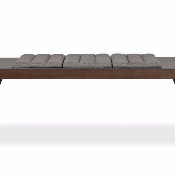 Russell Reversible Bench ASH/GREY
