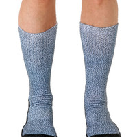 Pebble Grey Sport Socks