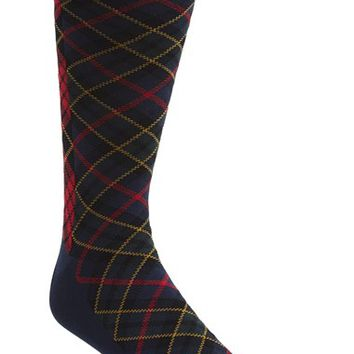 Men's Polo Ralph Lauren Patchwork Plaid Socks