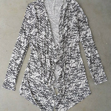 Altered Lines Cardigan