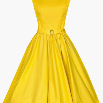 Sleeveless Pleated Tent Dress