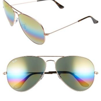 Ray-Ban 62mm Aviator Sunglasses | Nordstrom