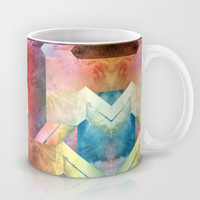 space hipster Mug by Danny Ivan