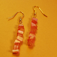 Quartz Pink Earrings