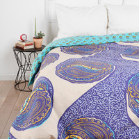 Magical Thinking Paisley Harmony Reversible Duvet Cover
