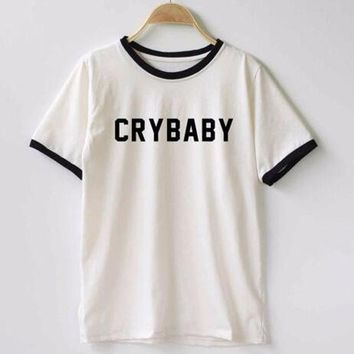 LMFOK2 Cry Baby  Cotton T Shirt