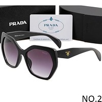 PRADA 2018 new summer men and women stylish sunglasses F-ANMYJ-BCYJ NO.2