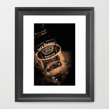 Jack Daniels Whisky Framed Art Print by Eduard Leasa Photography