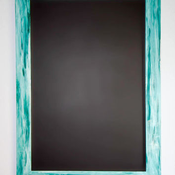 Idea Board - Wall Decor - Handmade Magnetic Chalkboard - Creative Board - Adult Adhd - Vertical Layout - Horizontal Layout 2 X 3
