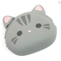 JetPens.com - P+G Mimi Pochi Friends Case - American Shorthair Cat