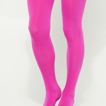 Fuchsia Tights