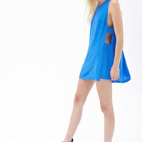 Cutout Shift Dress