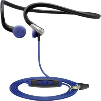 Sennheiser - Adidas Behind-the-Neck Sports Headphones - Black/Blue