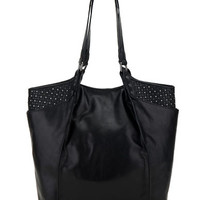 Elliott Lucca Messina Leather Carry All Tote Bag
