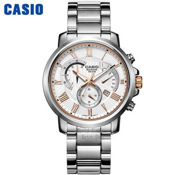 Casio watch Men's quartz business men's watch waterproof watch BEM-506BD-7A BEM-506CD-1A