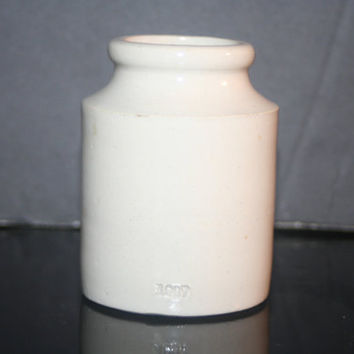 Antique Stoneware Crock Marked 1907
