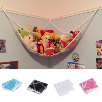 ac NOOW2 Hot Worldwdide Children Room Toys Stuffed Animals Toys Hammock Net Organize Storage Holder