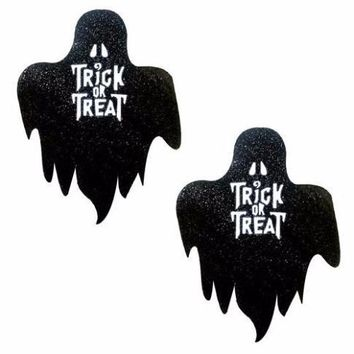 Freaking Awesome Glitter Blacklight Glow Trick or Treat Pasties by Neva Nude