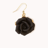 Classic Rosette Dangle Earrings
