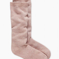 Kate Spade Slouchy Lurex Knee High Socks