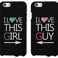 The New Iphone 6 Case Cover - I Love This Guy & Girl Matching Couple Phone Case