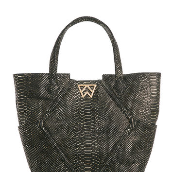 Paint the Town Tote in Night Sky Cobra