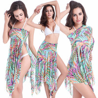 3 Multi Way Convertible Bikini Cover Up