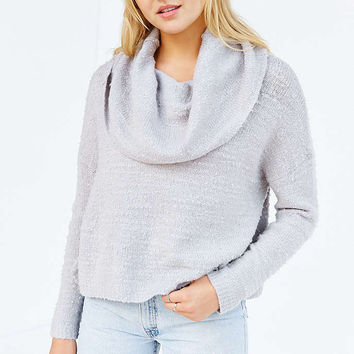 Kimchi Blue Divya Cowl-Neck Top - Urban Outfitters