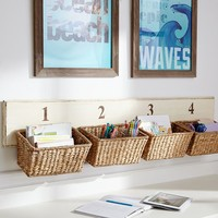 Basket Wall Organizer