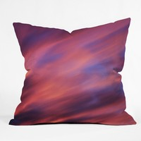 Shannon Clark Painted Sunset Throw Pillow