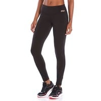 FILA Sport Signature Fleece-Lined Running Leggings - Women's, Size: