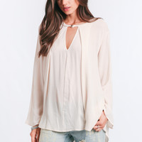 Slow Motion Oversized Blouse