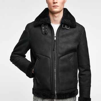 DOUBLE FACED JACKET