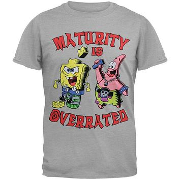 Spongebob Squarepants - Maturity Is Overrated Youth T-Shirt