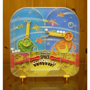 Retro Wolverine Space Conquest Bagatelle Game Toy N0 124 W/Box Complete