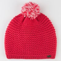 Roxy Sugar Plum Beanie Red One Size For Women 22444130001
