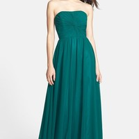 Women's JS Boutique Ruched Chiffon Gown
