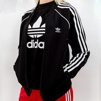 ADIDAS SST Black Womens Track Jacket