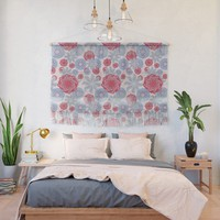 Tropical pattern 3 Wall Hanging by naturalcolors