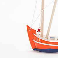 Wooden Boat  Fishing Boat  Trawler / Handmade  Hand by oyma
