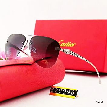 Cartier Fashion New Polarized More Color Women Men Sunscreen Eyeglasses Glasses