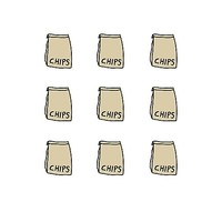 'Chipotle Inspired - Chips Bags' Photographic Print by devonguinn