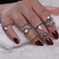 Bohemian 8pcs/set  for Women  Boho Jewelry